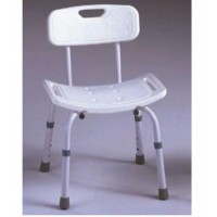 SHOWER CHAIR WITH BACK REST
