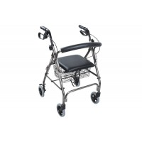 ROLLATOR WITH BRAKES