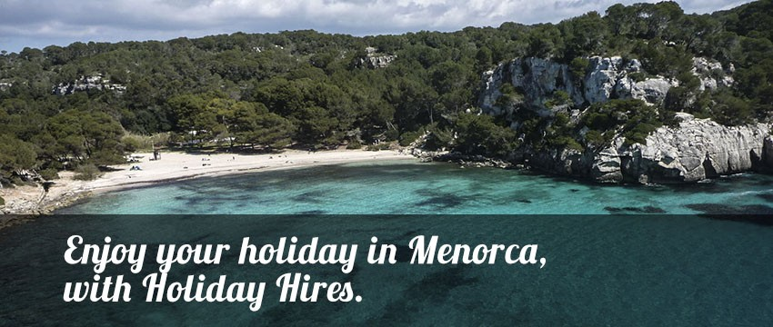 Holiday items in Menorca