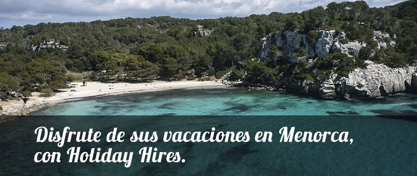 Alquiler de artículos en Menorca